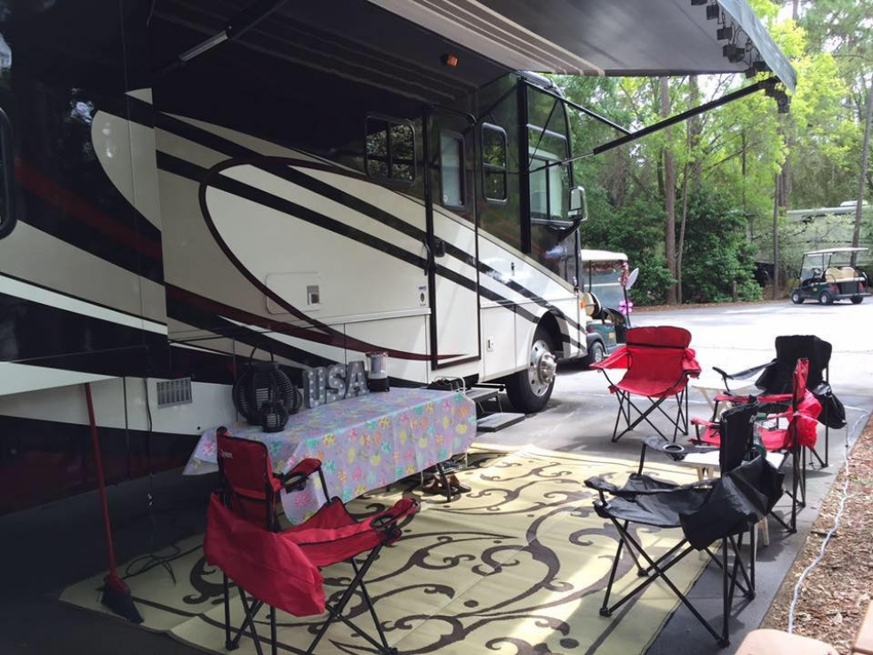 RV Glamping Adventures - show cover