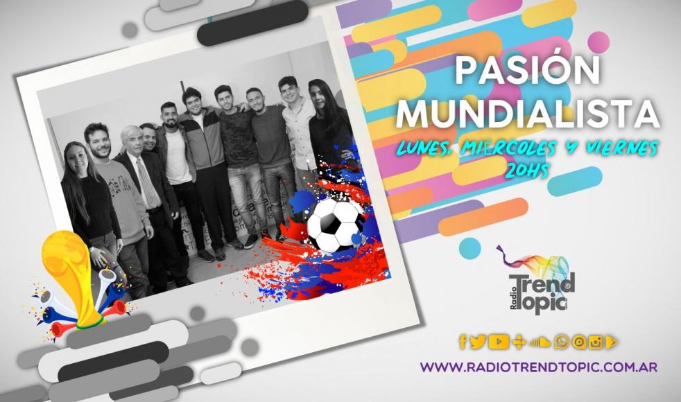 Pasión Mundialista - Radio Trend Topic - show cover