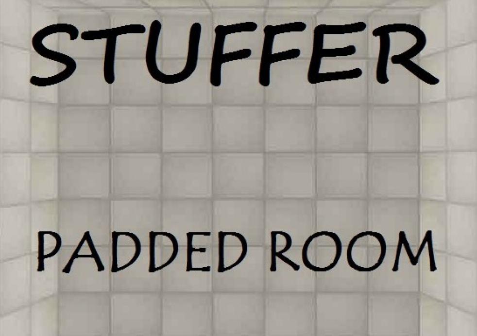 STUFFER - PADDED ROOM - imagen de show de portada