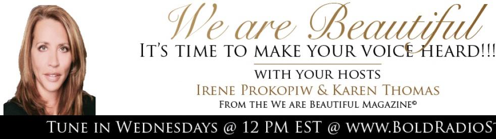 WE ARE BEAUTIFUL TALK SHOW! - immagine di copertina dello show