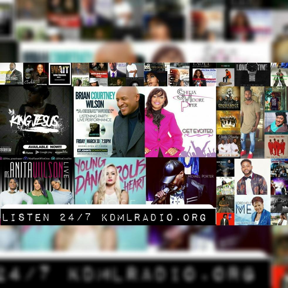 Gospel KDML Praise Radio - show cover