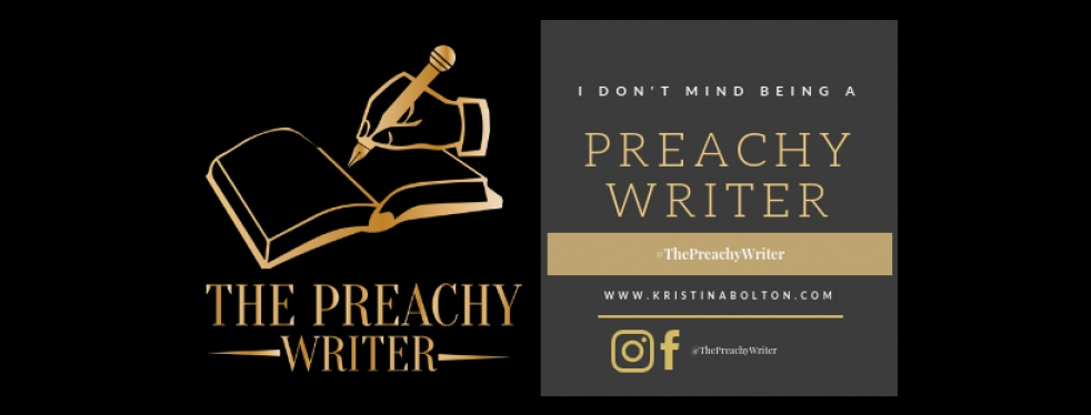 The Preachy Writer Podcast - show cover