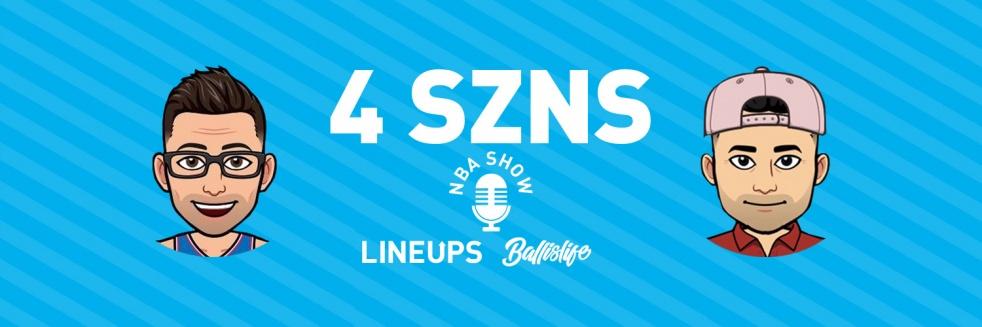 4 SZNS NBA Podcast - immagine di copertina dello show