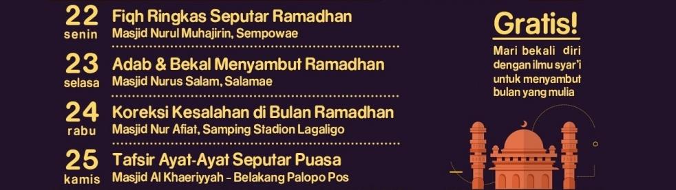 Kajian Ramadhan - imagen de show de portada