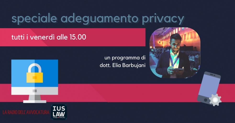 Speciale Adeguamento Privacy - imagen de show de portada