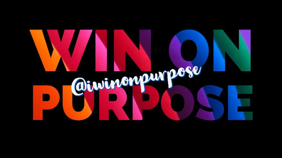 Win on Purpose - show cover