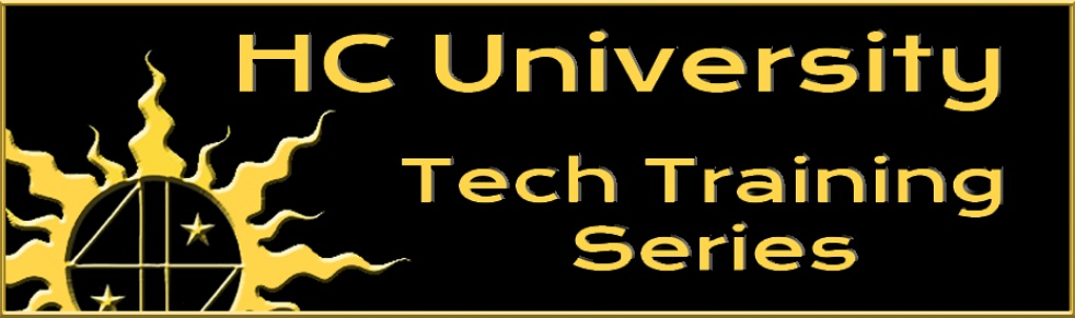 HC University Tech Training Series - immagine di copertina