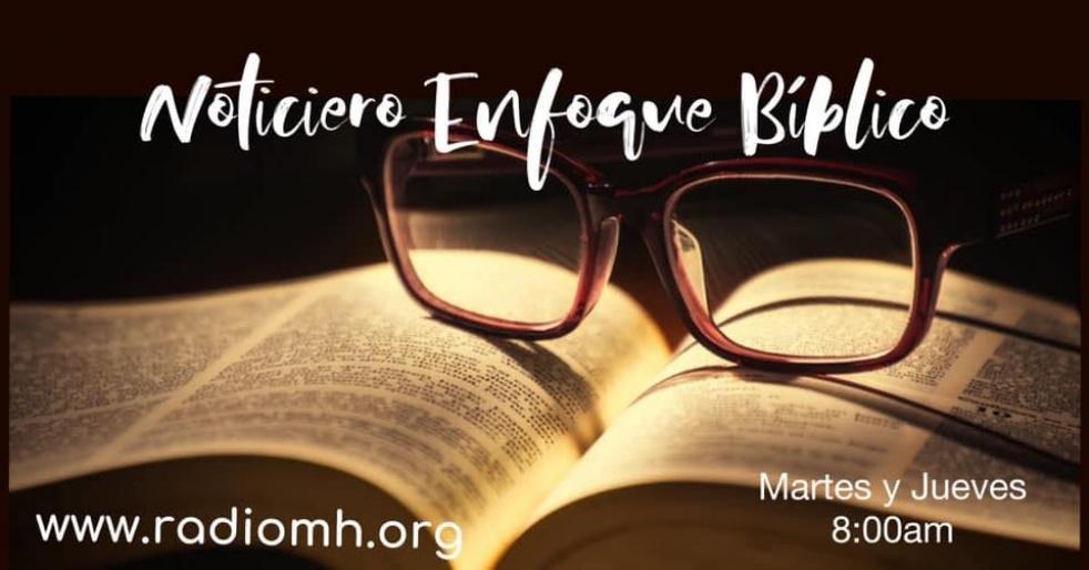 Noticiero Enfoque Biblico - imagen de show de portada