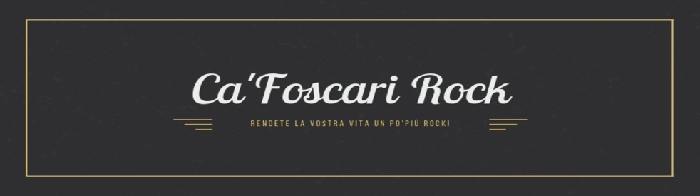 Ca' Foscari Rock - show cover