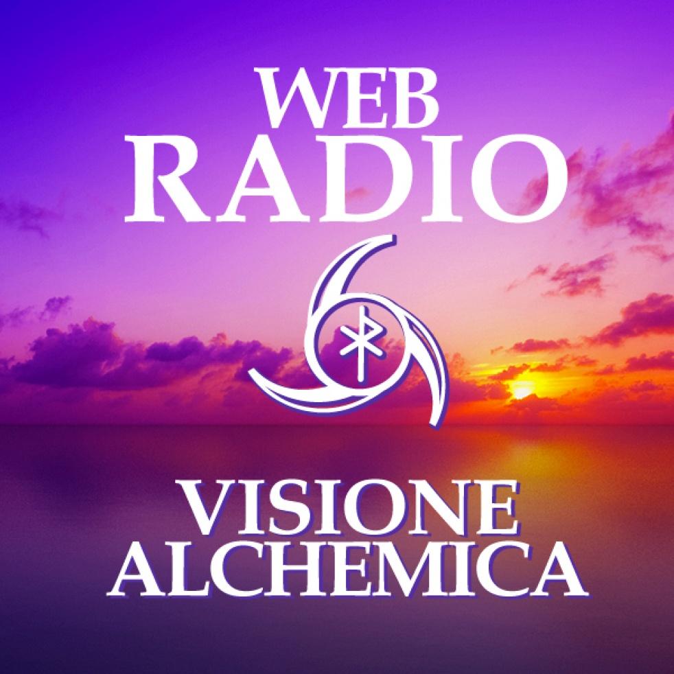 VISIONE ALCHEMICA RADIO WEB - imagen de show de portada