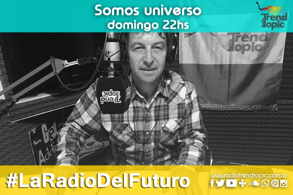 Radio Trend Topic - Somos Universo - show cover