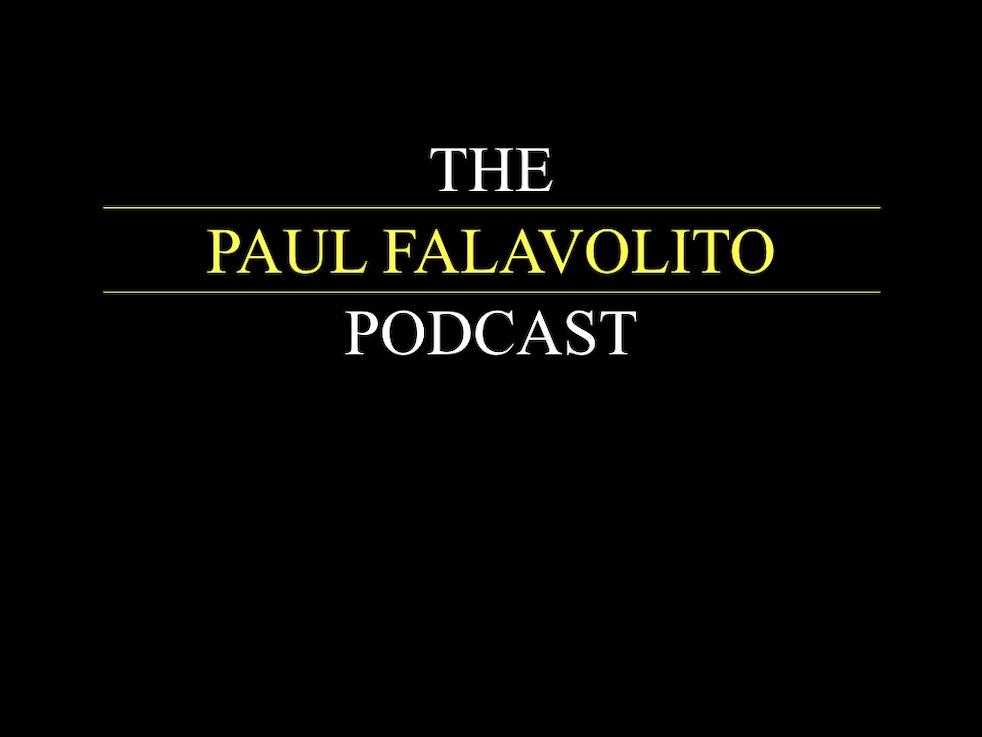 The Paul Falavolito Podcast - imagen de portada