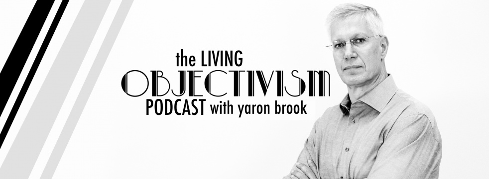 Yaron Brook Show - show cover