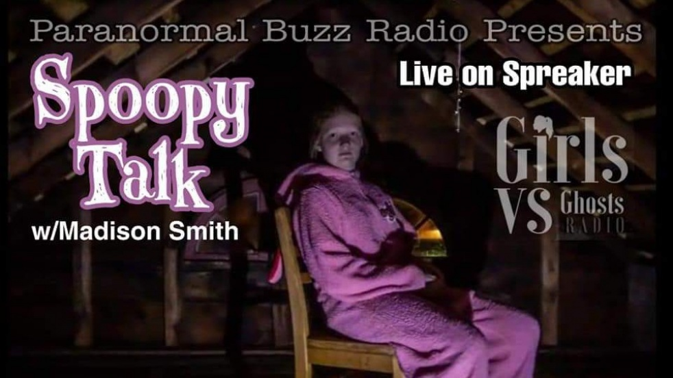 Spoopy Talk - show cover