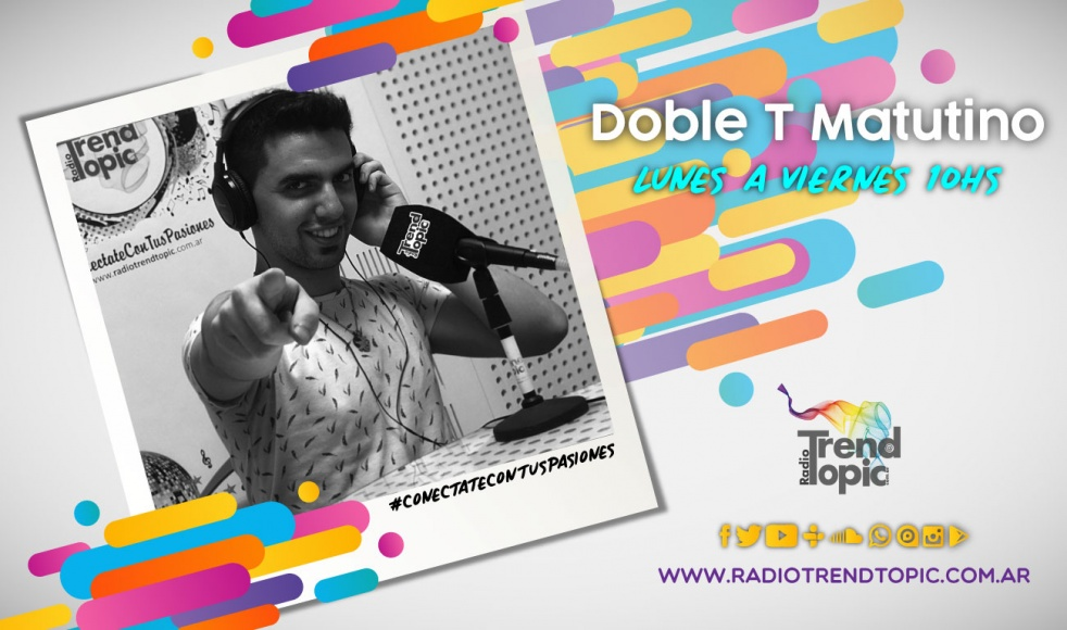 Doble T Matutino - Radio Trend Topic - show cover