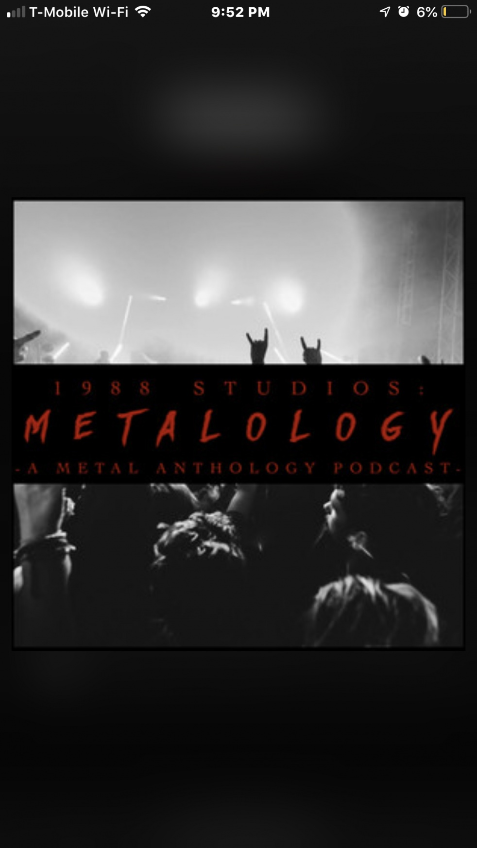 Metalology - show cover