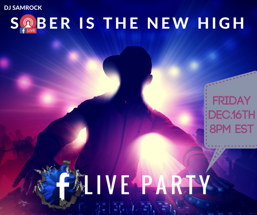 SOBER IS THE NEW HIGH with DJ SAMROCK - show cover