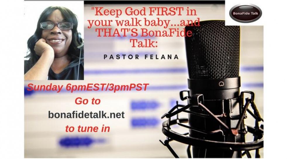 BonaFide Talk with Felana - show cover