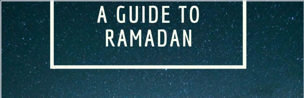 A Guide to Ramadan - show cover