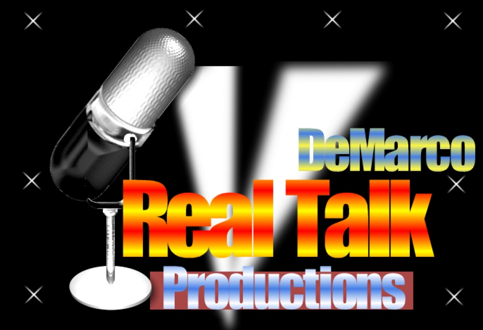 DeMarco Real Talk Radio - show cover