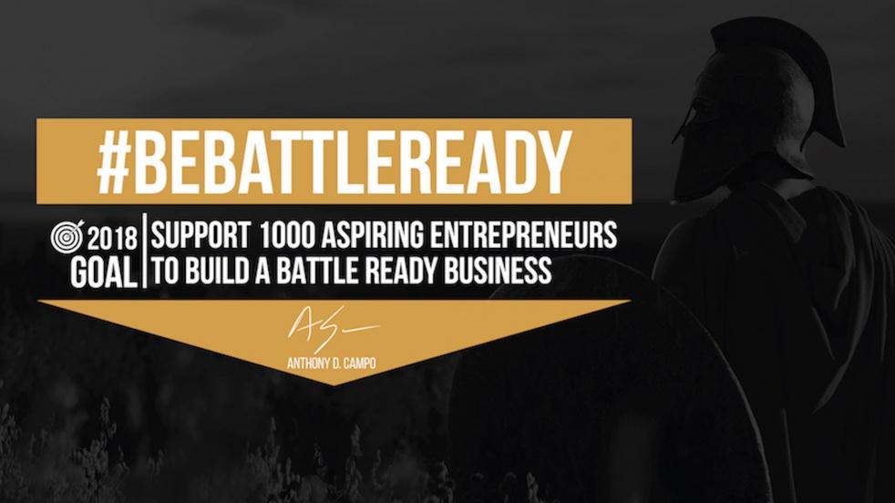 Be Battle Ready - imagen de show de portada