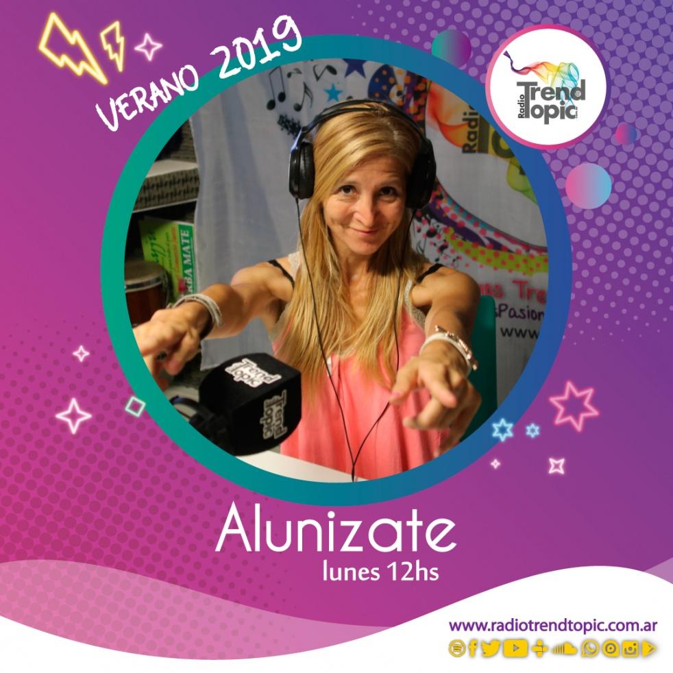 Alunizate - Radio Trend Topic - show cover