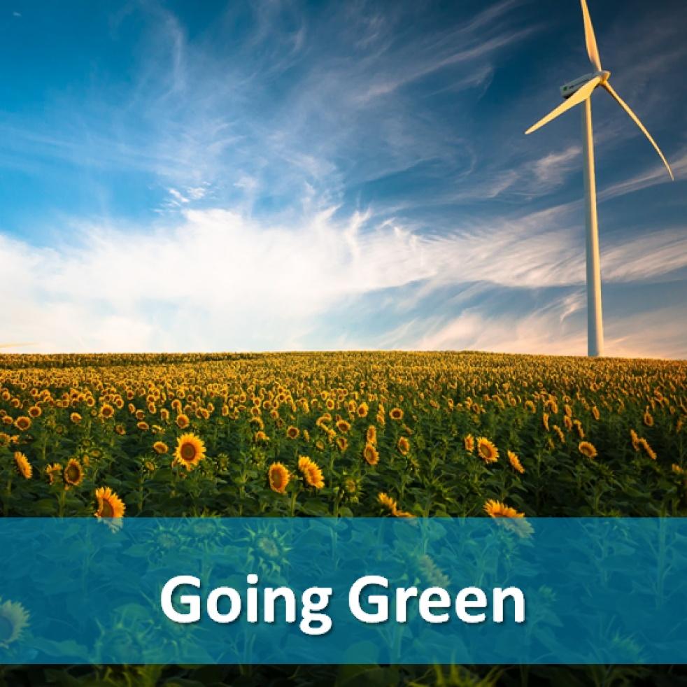Going Green - immagine di copertina dello show