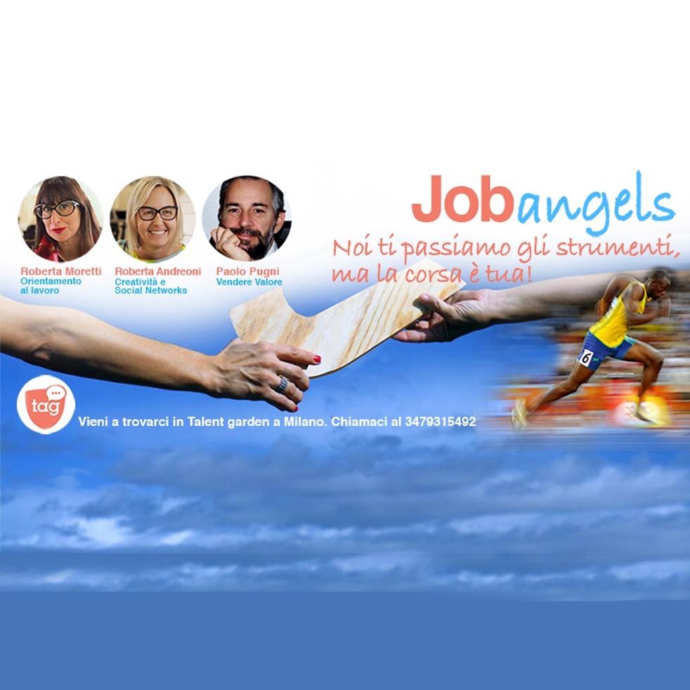 Con i JobAngels per lavorare ancora - show cover