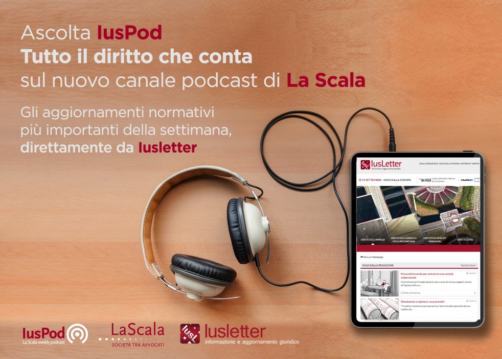 IusPod - La Scala weekly podcast - Cover Image