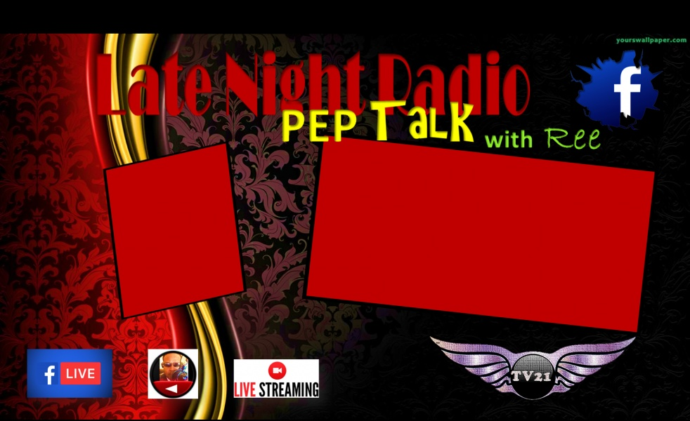 P.E.P. TALK with Ree - show cover