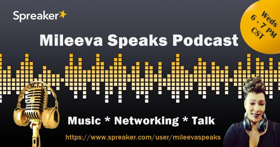 Mileeva Speaks w/ Michele Lee Evans - show cover