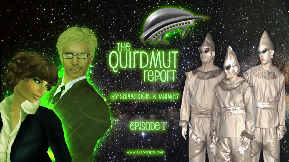 The Quirdmut Report - show cover