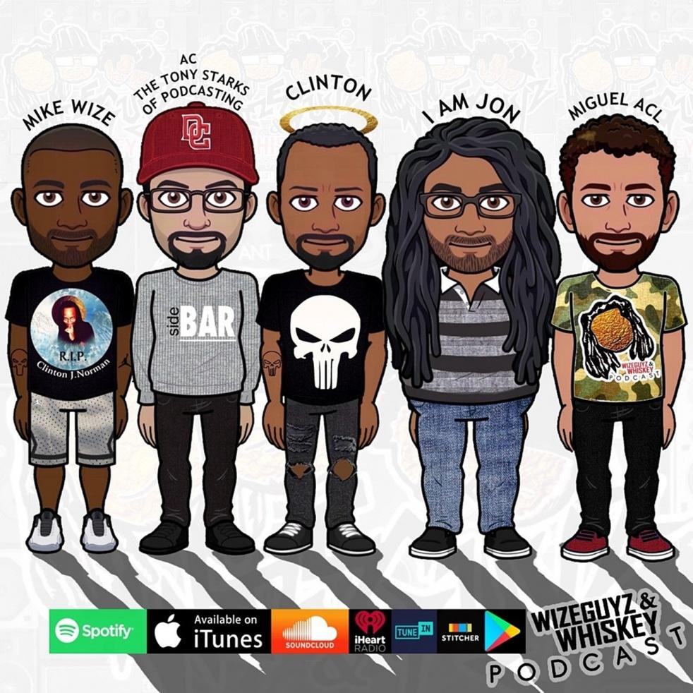 Wizeguyz & Whiskey Podcast - show cover