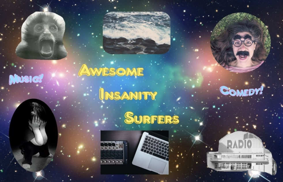 Awesome Insanity Surfer's tracks - show cover