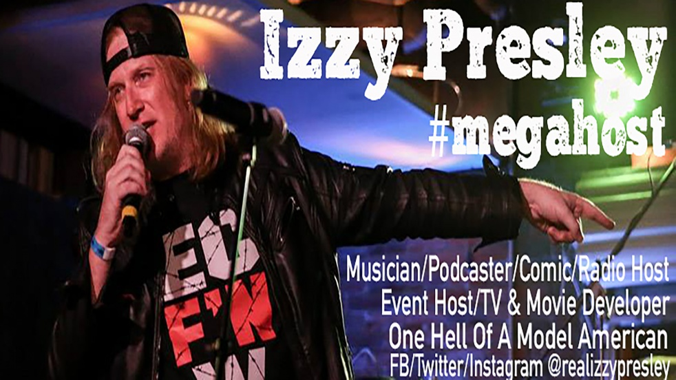 The Izzy Presley Show - Cover Image