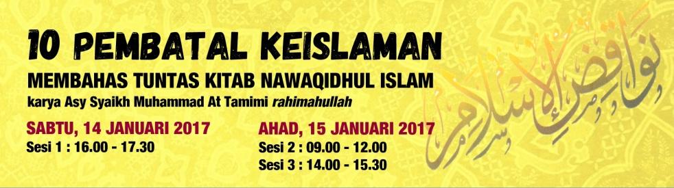 Kajian Intensif Nawaqidhul Islam - show cover