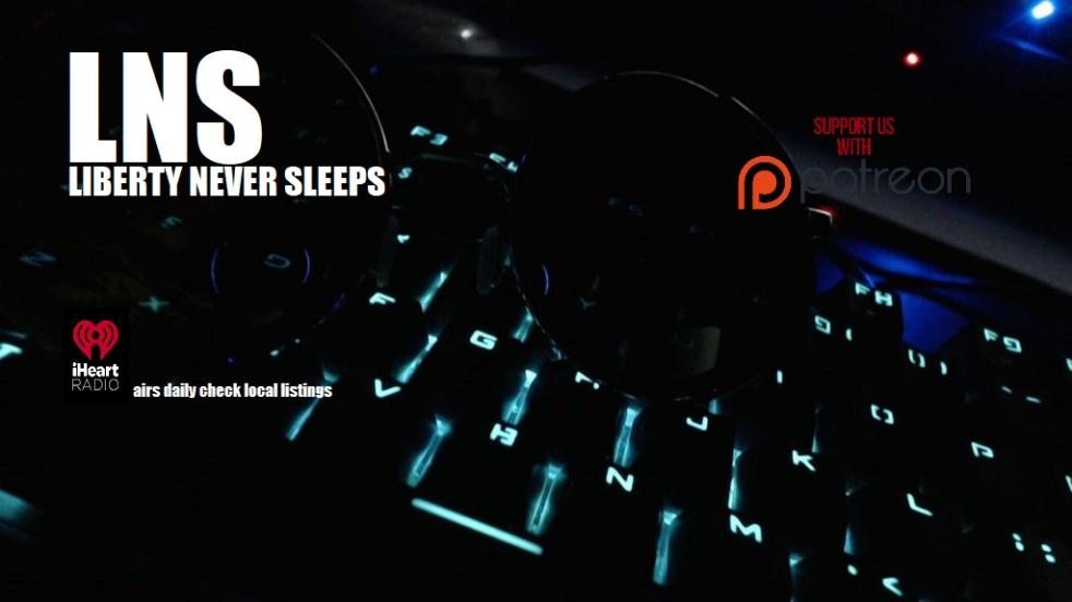 Liberty Never Sleeps - imagen de show de portada