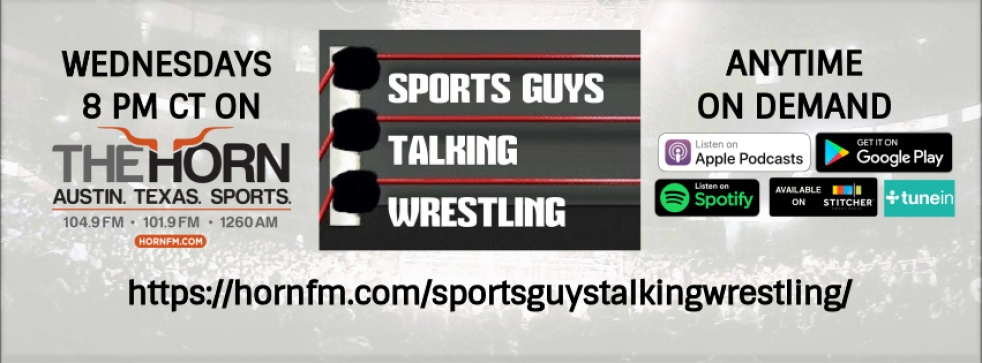 Sports Guys Talking Wrestling - imagen de show de portada