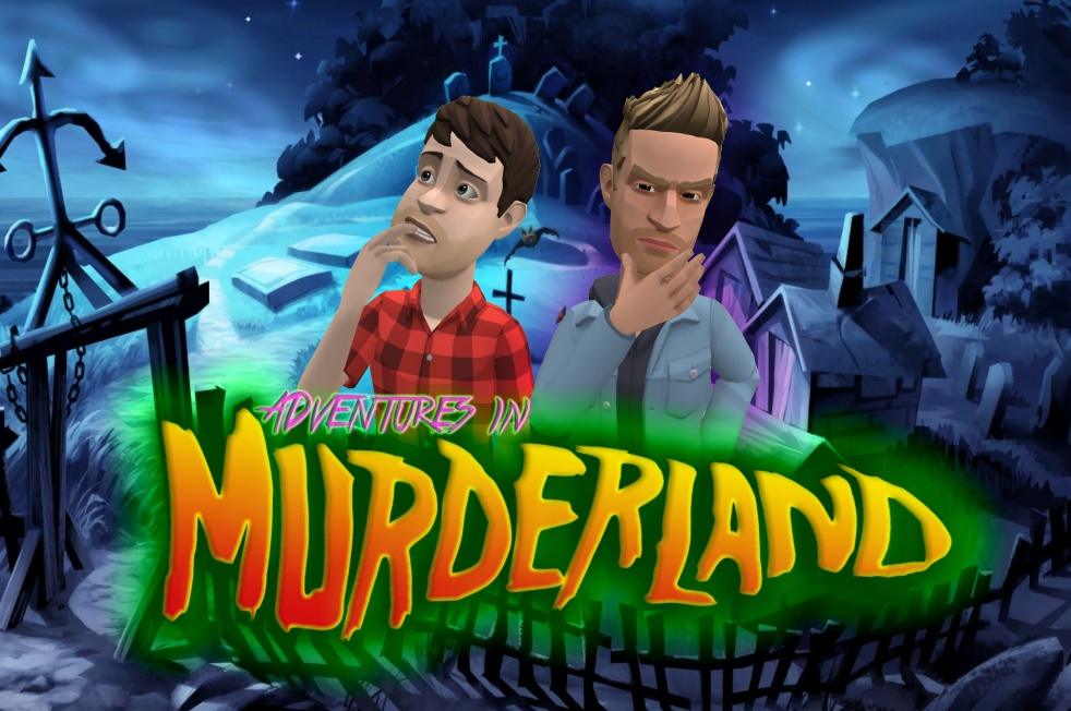 Adventures In Murderland - Cover Image
