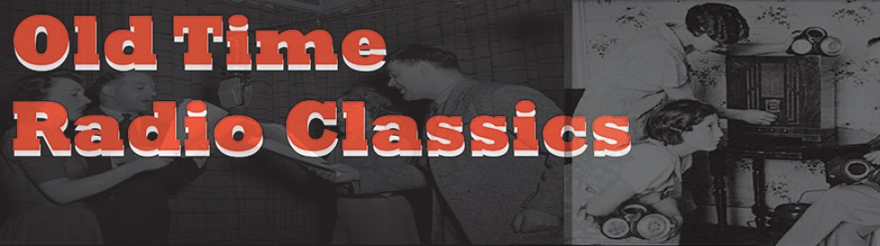 OLD TIME RADIO - imagen de show de portada