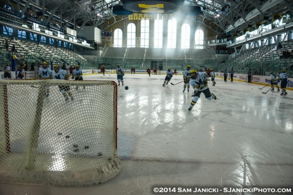 University of Michigan Women's Hockey - Cover Image