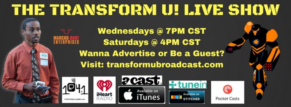 The Transform U! Live Show - show cover