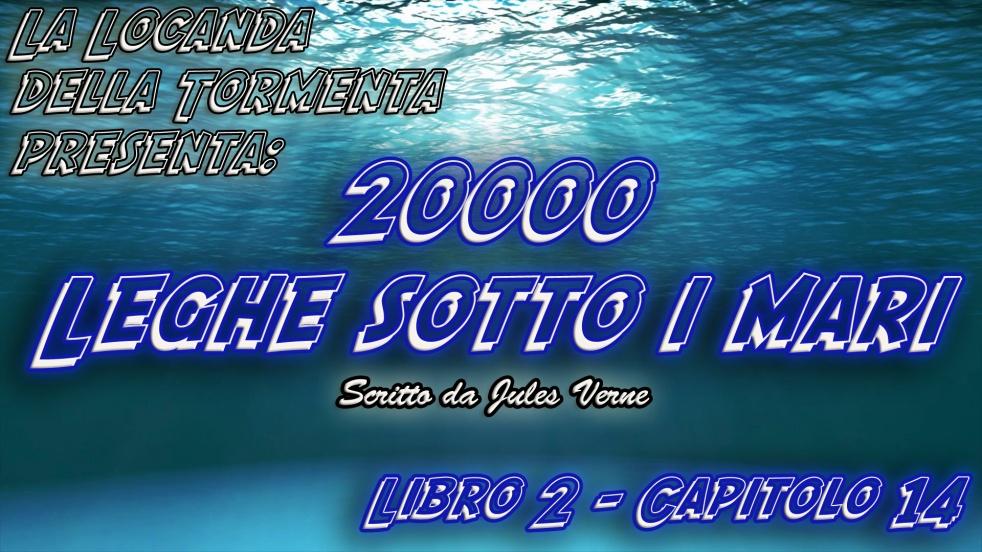 Audiolibro 20000 Leghe sotto i mari - Jules Verne - Cover Image