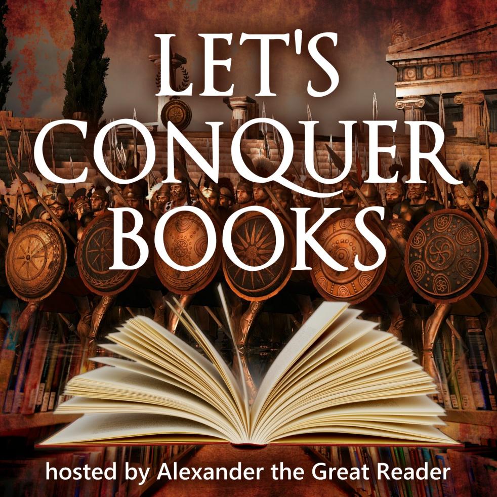 Let's Conquer Books - imagen de show de portada