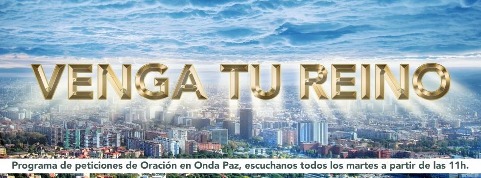 VENGA TU REINO - imagen de show de portada