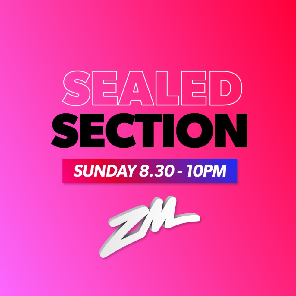 ZM's Sealed Section - imagen de show de portada