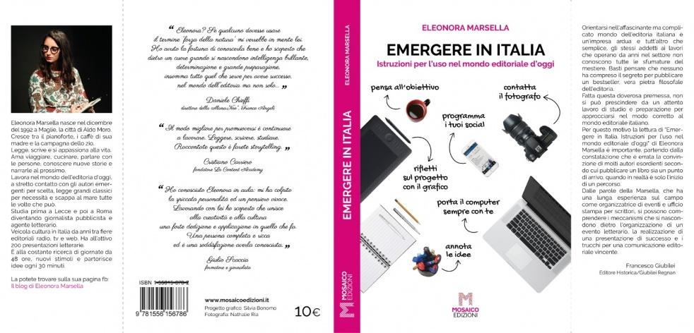 """""""Emergere in Italia"""" di EleonoraMarsella - show cover"""