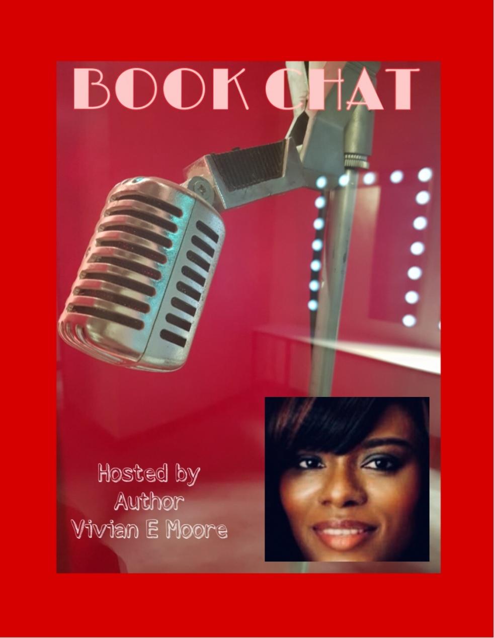 Book Chat W/Author Vivian E. Moore - imagen de portada