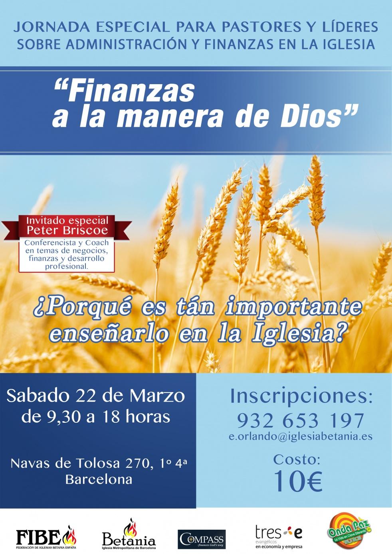 """""""FINANZAS A LA MANERA DE DIOS"""" - show cover"""
