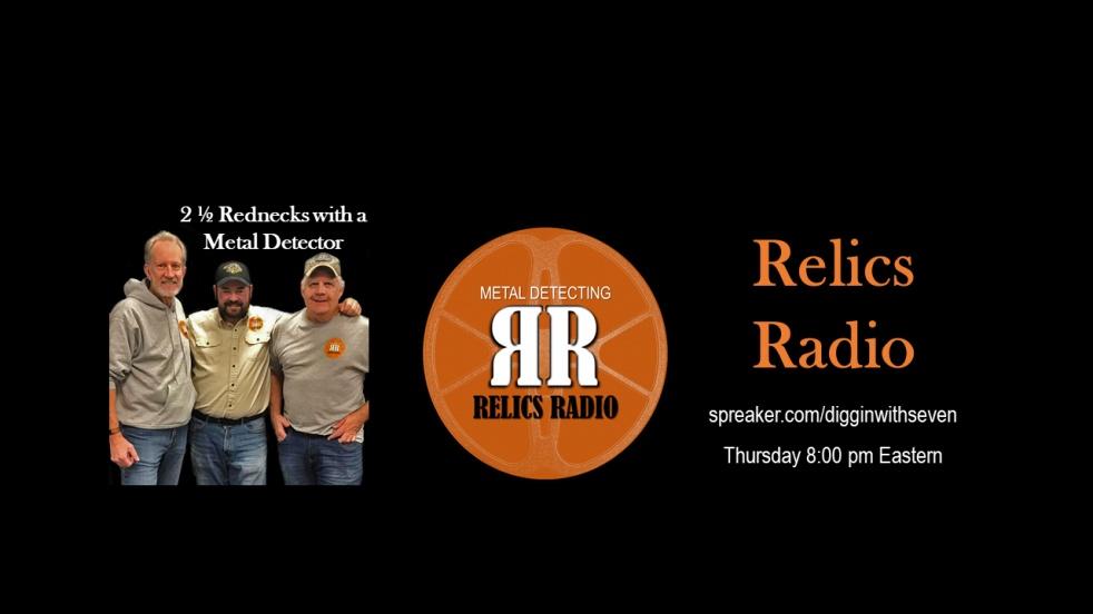 Relics Radio show - show cover